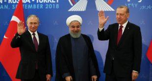 أردوغان يستضيف في العاصمة التركية الرئيسين الروسي والإيراني لبحث الملف السوري