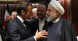 ماكرون يدعو الرئيس الإيراني للمساعدة في جهود نزع فتيل الأزمة بمنطقة الخليج