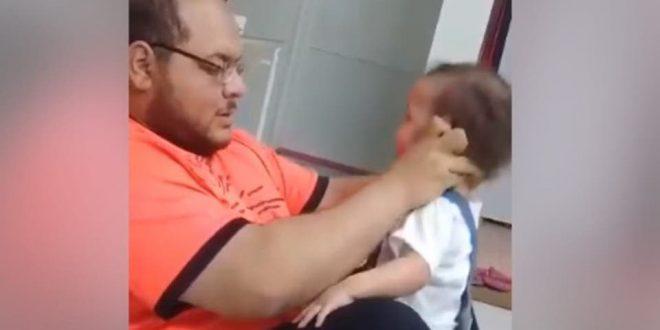 الشرطة السعودية تلقي القبض على والد الطفلة الذي عنف ابنته بطريقة وحشية على مواقع التواصل