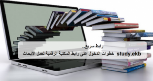 المكتبة الرقمية