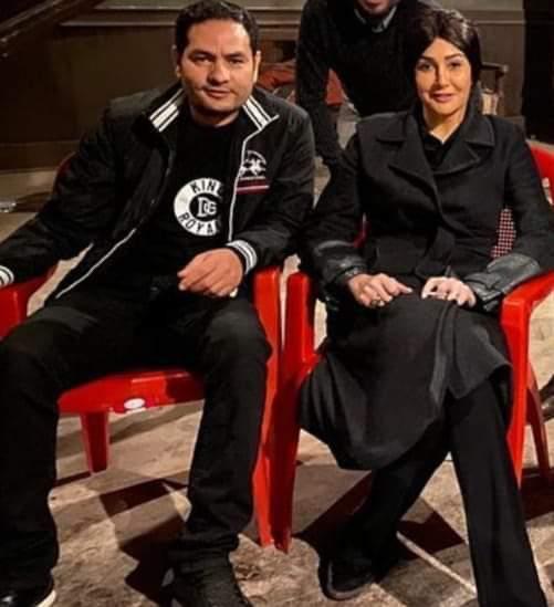 غادة عبد الرازق تعلن زواجها من هيثم زنيتا مدير تصويرها مسلسلها الرمضاني
