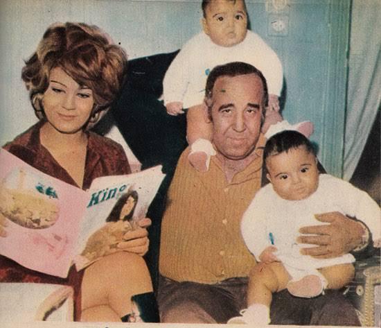 ابنة حسن مصطفى تحيي ذكرى وفاته بصورة كاركاتيرية له وكلمات مبكية